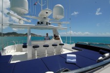 Motor yacht Dona Lola -  Sundeck